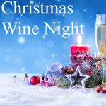 Champagne For Christmas Celebration - Flutes With Candle Decoration